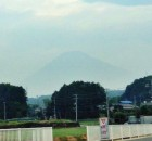 薄っすら富士山 2014-7-24