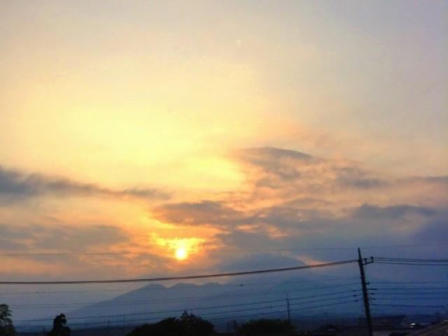 夕焼け 2014-7-15
