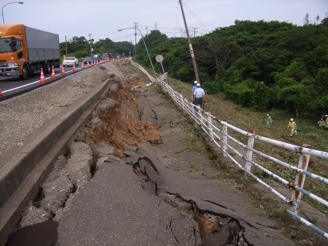 新潟県中越沖地震 2007-7-16