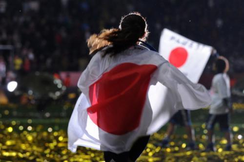 なでしこジャパン 2011 澤穂希選手